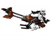 LEGO Star Wars Buildable Figures 75532 Scout Trooper™ & Speeder Bike™
