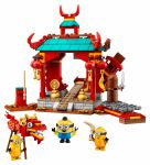 LEGO Minions: The Rise of Gru 75550 Minions Kung Fu Tempel