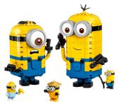 LEGO Minions: The Rise of Gru 75551 Minions-Figuren Bauset mit Versteck