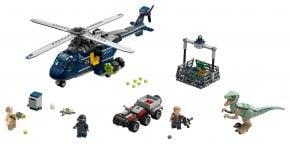 LEGO Jurassic World 75928 Blue's Hubschrauber-Verfolgungsjagd - © 2018 LEGO Group