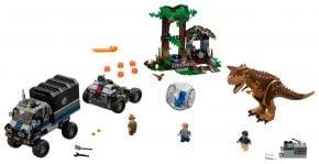 LEGO Jurassic World 75929 Carnotaurus - Flucht in der Gyrosphere - © 2018 LEGO Group