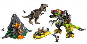 LEGO Jurassic World 75938 T. rex vs. Dino-Mech
