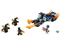 LEGO Super Heroes 76123 Captain America: Outrider-Attacke