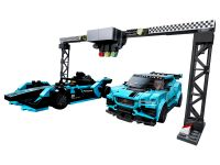 LEGO Speed Champions 76898 Formula E Panasonic Jaguar Racing GEN2 car & Jaguar I-PACE eTROPHY - © 2020 LEGO Group