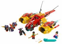 LEGO Monkie Kid 80008 Monkie Kids Wolken-Jet