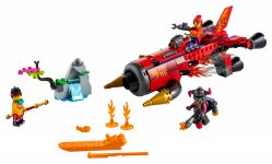 LEGO Monkie Kid 80019 Red Sons Inferno-Jet