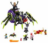 LEGO Monkie Kid 80022 Hauptquartier der Spider Queen