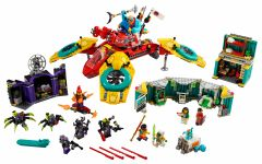 LEGO Monkie Kid 80023 Monkie Kids Hubschrauberdrohne