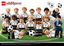 LEGO Collectable Minifigures 71014 LEGO® Minifiguren DFB Serie Die Mannschaft 60er Box